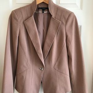 White House Black Market Tan Jacket